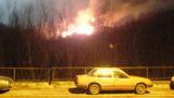 В Балкана огнеборците повикаха на помощ вертолет