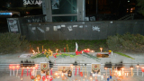 БЛИЦ TV: Направиха олтар с цветя и свещи в памет на Пламен Горанов в София