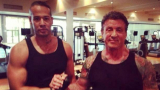 Слай помпа непобедимите си мускули из софийските фитнес зали