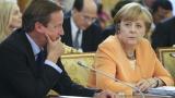 Победата на Меркел е успех и за Камерън
