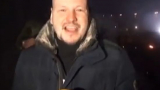 Ръчна бомба рани журналист в Киев (ВИДЕО)