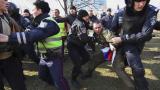 Привърженици и противници на Киев се биха в Донецк (ВИДЕО)