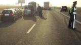 "Две верижни катастрофи за ""добро утро"" на магистрала ""Тракия"""
