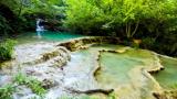 Скална маса затрупа англичани на Крушунските водопади!