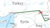 "Кюрди взривиха турския петролопровод ""Джейхан"""