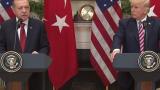 Тръмп прие Ердоган в Белия дом (НА ЖИВО)
