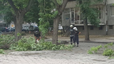 Страшно природно явление е причинило погрома в Пловдив