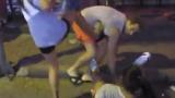 Скандално ВИДЕО: Проститутки пребиха нахален турист