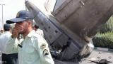 Военен самолет се разби в Иран