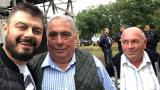 Бареков заведе  британския евродепутат Джон Флек на гости при кравата Пенка! (СНИМКИ)