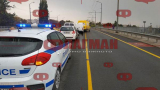 Жестока верижна катастрофа в Бургас! (СНИМКИ)