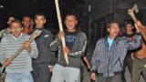 Пак безчинство: Тумба цигани нападнаха и биха полицаи в Сливен, трима служители на реда пострадаха