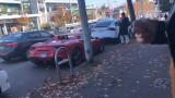 Мечта: Бездомник направи серенада на Ferrari (ВИДЕО)