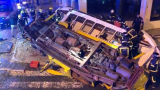 Трамвай дерайлира в Лисабон, настана истински ужас