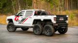 Чудовището на шест колела Bureko Chevrolet Silverado (СНИМКИ/ВИДЕО)