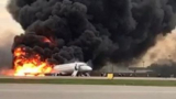 "Появи се ново страшно ВИДЕО от ужаса с много трупове в самолет на ""Аерофлот"""