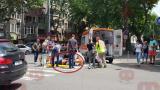 Хюндай помете моторист в Бургас