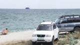 "Джипове пак налазиха плаж, сега в ""Паша дере"" до Варна (ВИДЕО)"