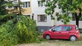 Свирепа буря удари Благоевград! Положението е апокалиптично (СНИМКА)