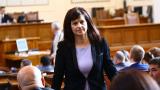 Дариткова разби БСП за мотивите им за вота на недоверие