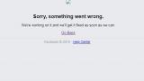 Фейсбук се срина!