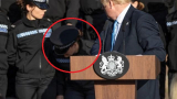 Млада полицайка припадна заради Борис Джонсън ВИДЕО