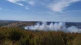 Стрелби запалиха военен полигон край Беляковец СНИМКИ