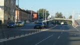 Две лъскави БМВ-та се помляха в Пловдив СНИМКИ