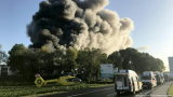 Страшна експлозия до летището окървави Линц и срина... ВИДЕО