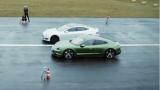 Битката на титаните: Porsche Taycan срещу Tesla Model S ВИДЕО
