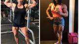 Баба започна да вдига тежести и стана мускулест гигант СНИМКИ