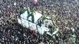 Милиони се стекоха на погребението на генерал Сюлеймани в Техеран ВИДЕО