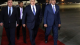 Борисов пристигна в Египет за важно военно събитие ВИДЕО