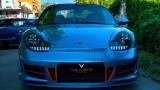 Българи впечатлиха с яркия тунинг на Porsche 911 Cabriolet СНИМКИ