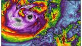 """Meteo Balkans"" алармира: Става страшно, нахлува циклон-чудовище КАРТИ"