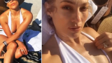 Дженифър Лопес показа перфектно тяло на плажа ВИДЕО