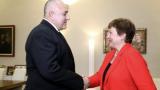 Кристалина Георгиева похвали Борисов и обеща...
