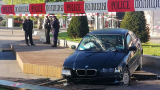 Зрелищни ВИДЕА от опасната гонка с 3 патрулки и БМВ, паникьосала Бургас