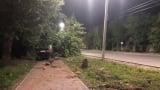 Ужасяващо ВИДЕО 18+: Кола помита смъртоносно пешеходец