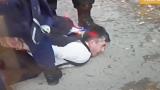 Метежникът, нападнал патрулка на протеста - подставено лице на Цветан Василев! БЛИЦ TV