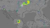 "Метеорологични радари засякоха огромна ""летяща чиния"" над Мексико"