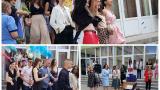 Изкласиха: Английската гимназия в Бургас изпрати своите абитуриенти СНИМКИ