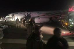 Пореден инцидент! Самолет се приземи без шаси (СНИМКИ/ВИДЕО)