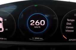 Ускорете с Porsche Taycan до 260 км/ч ВИДЕО