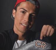 Роналдо с нови сребристи обувки за Ел Класико