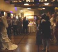 Ронда Роузи пребори куп моми на сватба (ВИДЕО)