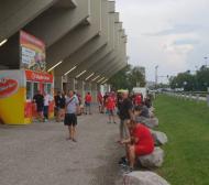 Над 300 фена редом до ЦСКА в Австрия