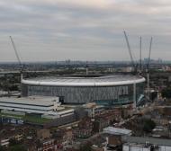 Стадион за милиард паунда прокапа сериозно! (СНИМКИ)