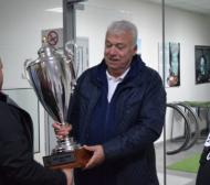 Локомотив (Пловдив) и БФС поздравиха Зума